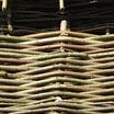 Rustikálny Lieskový Panelový Plot